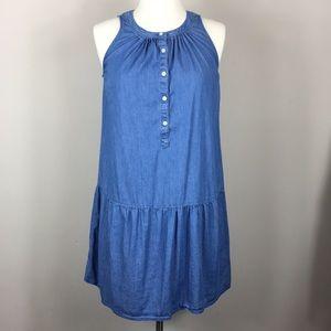 LOFT | denim dress